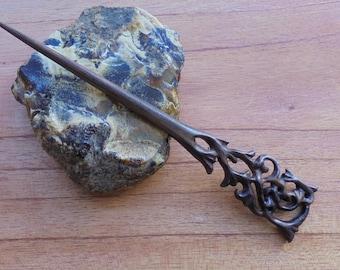1 Prong Wood Hair Sticks,Hair Pin, Hair Fork, Hair Accessories HS67