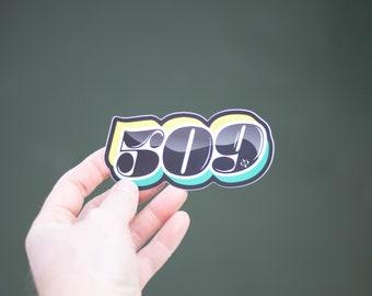 509 Sticker