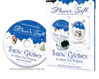 Flower Soft Snow Globes + Other Fun Projects CD