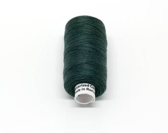 Valdani 60wt. Cotton Thread - #41 Forest Green Dark