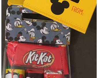 Handmade Magic Kingdom Inspired Treat Topper Cello Loot Bag Birthday Party Favor Classroom Gifts Coworkers Teacher Gifts set of 12