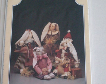 The Buckeye Tree #134 Wabbit Season In pattern,bunny dolls,vintage