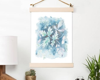 Floral Art Printable Artwork, INSTANT DOWNLOAD, Watercolor art print for you home, nursery or a great gift idea. Easy to Print at home