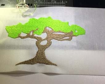 embroidery design tree Embroidery