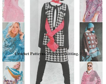 Crochet Patterns. Patterns knitting. E-book. Instant Download PDF. Journal Mod #590