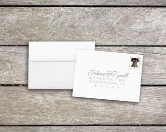 Address RSVP Envelopes