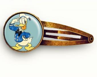 Vintage Donald Duck Hair Clip