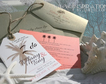 Save the date luggage tags, save the date, luggage tag, Destination Wedding