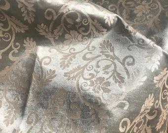 Handprinted Upholstery Velvet Remnant