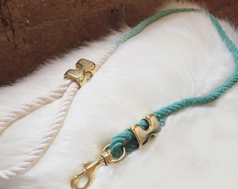 Rope cotton leash
