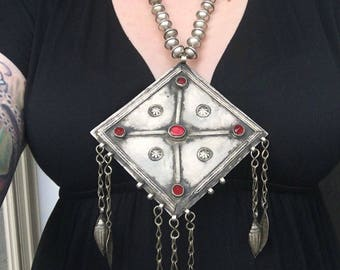 Giant Tribal Necklace