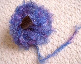 Short Curly Eyelash Yarn Made in Italy, 1 ball
