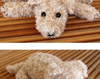 Crochet Pattern For Fuzzy Puppy Dog