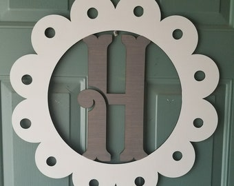 """Wooden Initial- 20"""""""