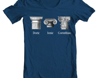 Classical Orders Architecture Shirt - History T-shirt