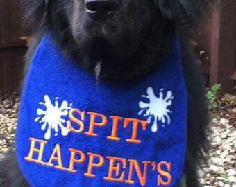 Spit Happens big dog slobber/drool bib