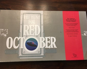The Hunt For Red October  Board Game Rare