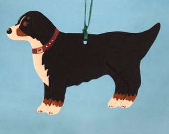 Bernese Mountain Dog - Porcelain Ornament
