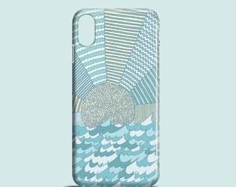 Sunrise mobile phone case / iPhone X, iPhone 8, iPhone 7, iPhone 7 Plus, iPhone SE, iPhone 6S, iPhone 6, iPhone 5/5S / pastel iPhone case