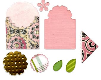 Sizzix Thinlits Bookmark, Tag and Pocket