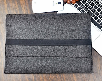 Ipad pro case ,Macbook air case ,Felt laptop case, New Macbook 12 inch laptop sleeve 13 inch Felt laptop cover Gifts for her3A49