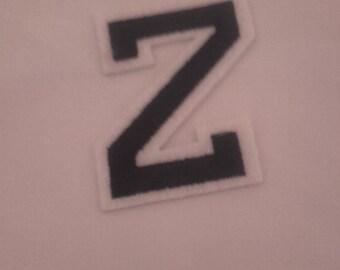 Z iron on patch