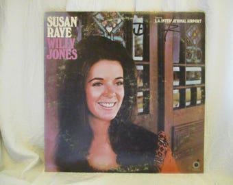 Susan Raye Willy Jones Record LP Album