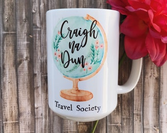 Craigh na Dun Travel Society - Outlander Inspired Coffee Mug