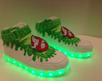Slimer Light Up & Glow in the dark Shoes