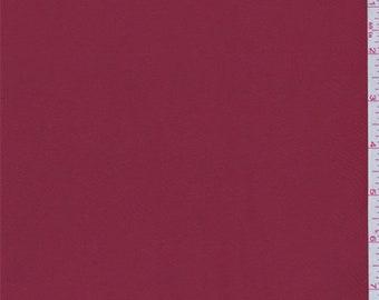 Ruby Red Taffeta Faille, Fabric By The Yard