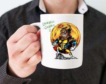 Gift for Vegan mug: Dragon Vegan Z