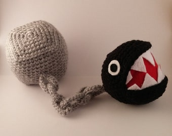Crochet Super Mario Chain Chomp
