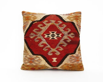 kilim pillow, turkish kilim pillow, turkish pillow, vintage pillow, decorative pillow, pillow, bohemian pillow, kilim, kilim cushion cover