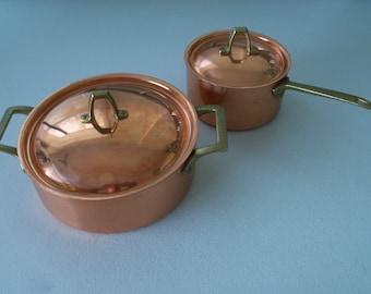 Paul Revere Limited Edition Set of 2 Copper Pots