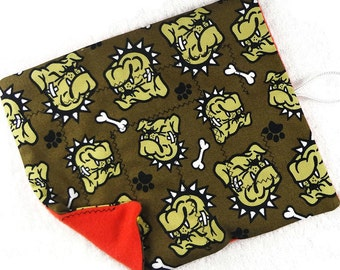 Dog scars marble maze game, roll up fabric maze, men boy adult senior, cloth fidget, dementia alzheimer autism add sensory toy memory stress