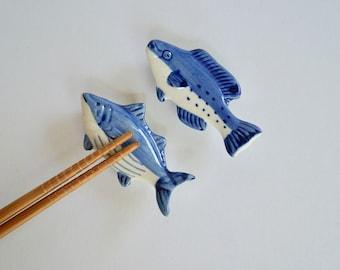 Japanese Porcelain Chopstick Rests/Chopstick Holders/Hashioki