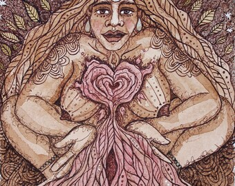 Print- Her Abundant Heart