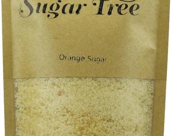 Orange Sugar- Handmade - Naturally Flavoured Orange Sugar - Orange Sugar - Flavoured Sugar - Gourmet Suga