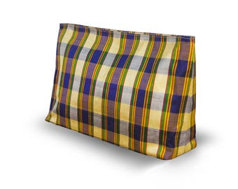 Exclusive Clutch Purse Evening Purple Yellow