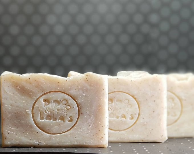 Next to Normal (Normal to Oily) Facial Bar --  Natural, Handmade, Barely Scented, Hot Process, Vegan, Tea Tree Lavender Soap, Free Shipping