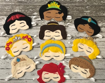 Princess Sleep Mask Sleeping Mask Eye Sleep Mask Travel Mask Disney sleep mask sleep masks for woman Eye Mask Gift for Her Blindfold