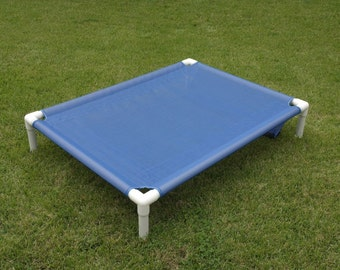 Raised Bed 11 Colors 38x50 Dog Gifts, Mesh Dog Cot, Orthopedic Dog Bed, Elevated Dog Bed, Cat Bed, Medium To Large Dogs Up To 130 Pounds.