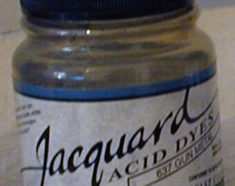 Gun Metal 637 Jacquard Acid Dye for Wool, Silk, Feathers, Nylon, any protein (animal) fiber. Add vinegar and heat to powder.