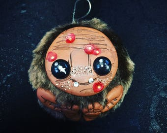 Toothless Brown Monster Christmas ornament