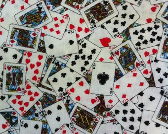 FQ Deck of Cards - Timeless Treasures 100% Cotton