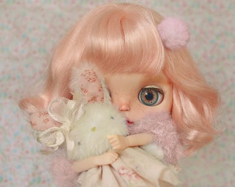 Chloe the Phush bunny/ Phlush rabbit / Stufeed bunny OOAK