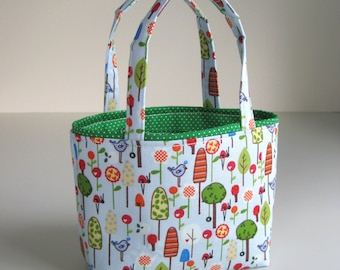 Little Blue Bird Handbag - Heidi Grace - Small Purse