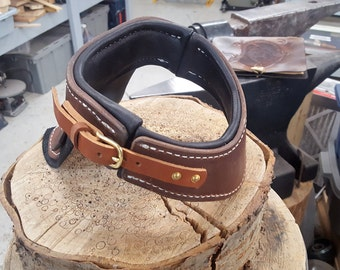 Gorget / Brown / Waxed Leather