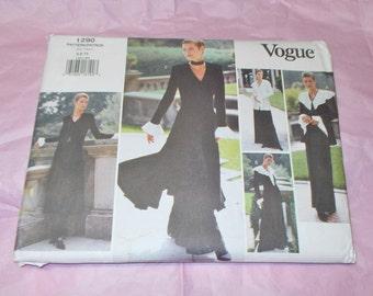 Vogue 1290 sewing pattern Misses 6 8 10 jacket dress top and pants uncut