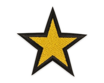 Ironing/Application star Yellow